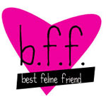 bff, best feline friend logo